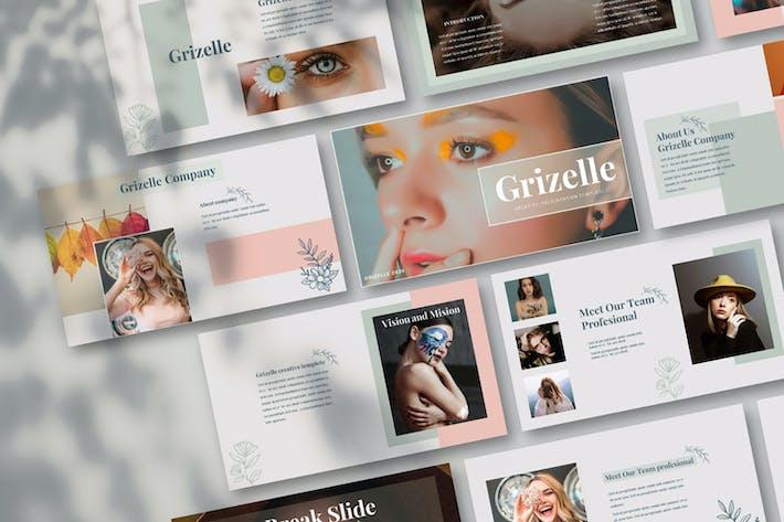Thumbnail for Grizelle - Творческий KeyNoteTempl