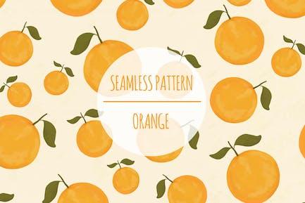 Naranja — patrón sin costuras