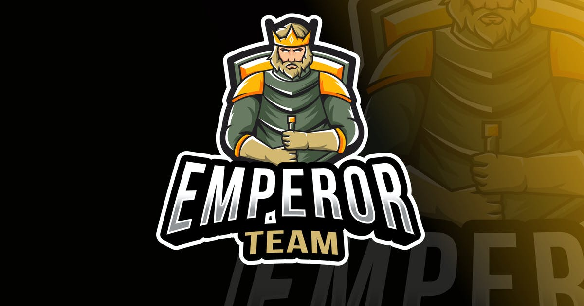 Download Emperor Team Logo Template by IanMikraz
