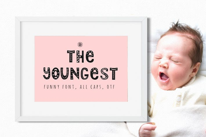 Thumbnail for The Youngest Font