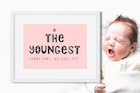 The Youngest Font