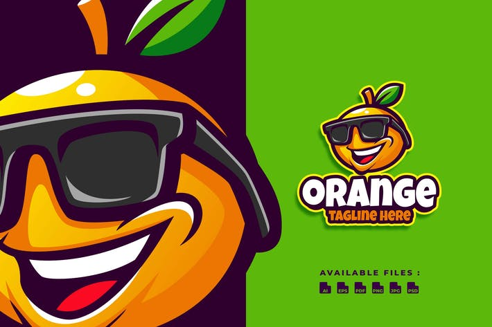 Thumbnail for Orange Cartoon Logo