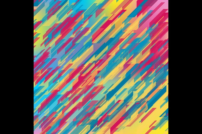 Thumbnail for Colorful geometric tech abstract background