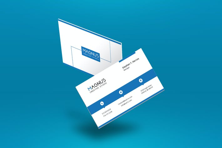 Thumbnail for Professional Business Card Template