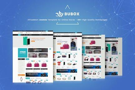 Шаблон Bubox VirtueMart Joomla для интернет-магазина