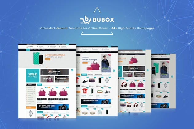 Bubox VirtueMart Joomla Template for Online Store