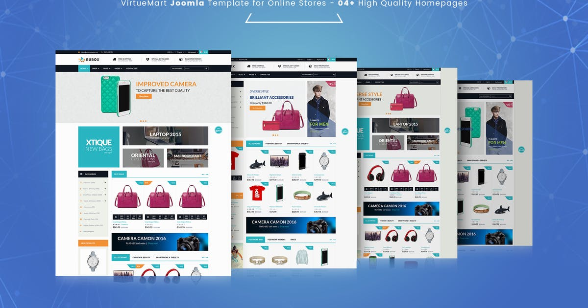 Download Bubox VirtueMart Joomla Template for Online Store by vinagecko