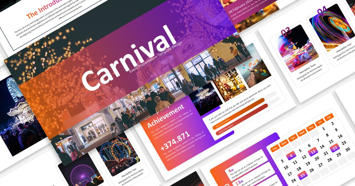 Download Carnival - Business Keynote Template by Blesstudio