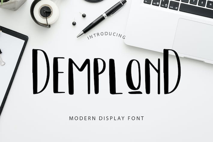 Thumbnail for DemplonD Display Font