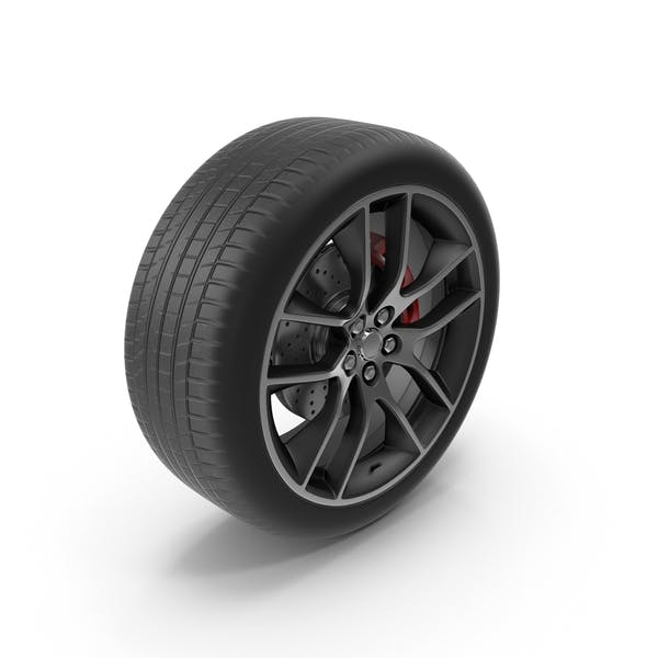 Thumbnail for Car Wheel With Rotor