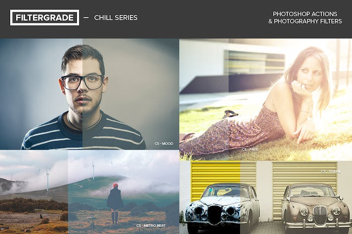 Thumbnail for FilterGrade Chill Series Photoshop Actions