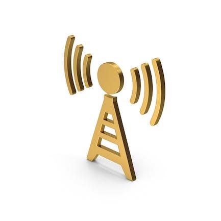Symbol Antenna Gold