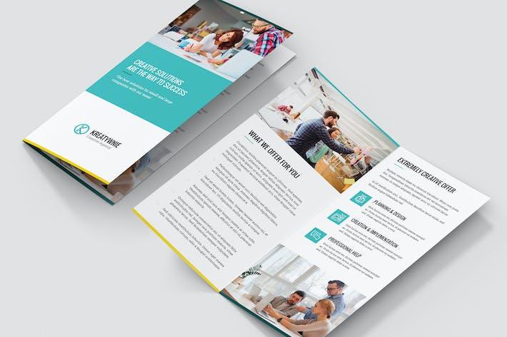 Brochure – Creative Agency Bi-Fold DL