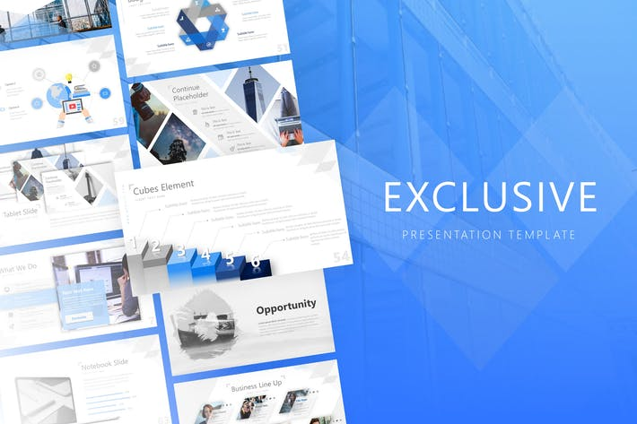 Thumbnail for Exclusive Powerpoint Template