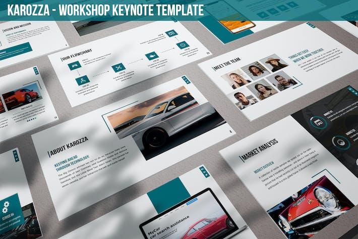 Thumbnail for Karozza - Workshop Keynote Template