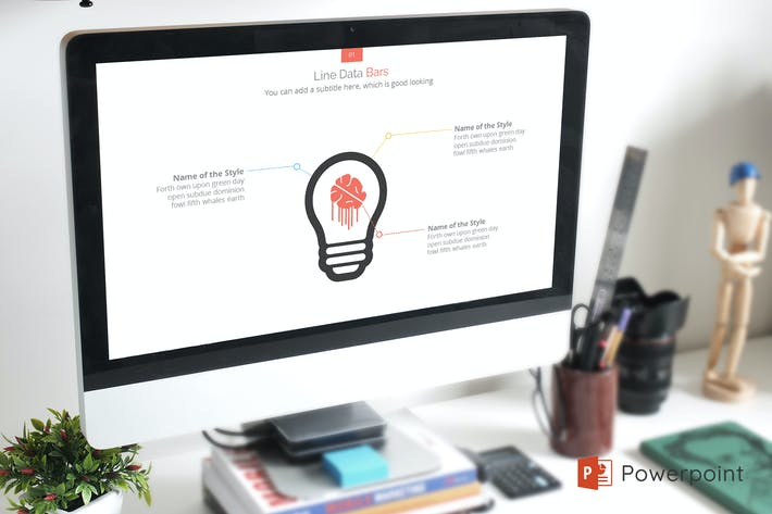 Cover Image For X-Strong Creative Powerpoint Presentation Template