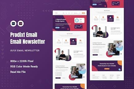 Prodixt Email Newsletter