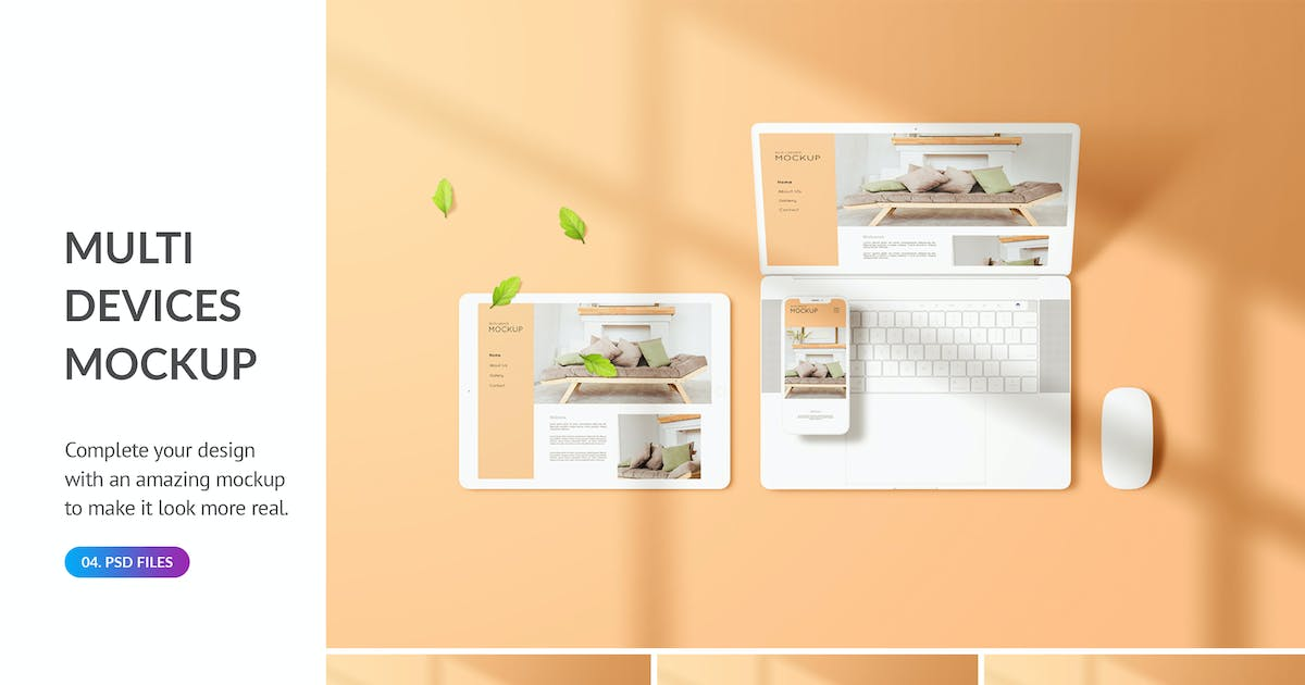 Download Multi Devices Screen Mockup by docqueen