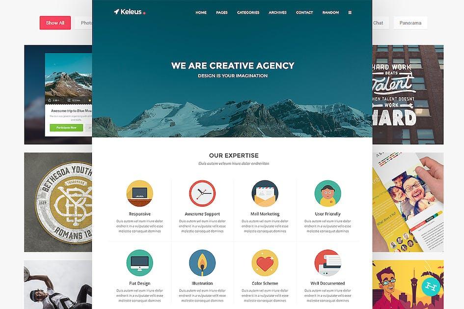 Download Keleus - Business Tumblr Theme by StringLabs