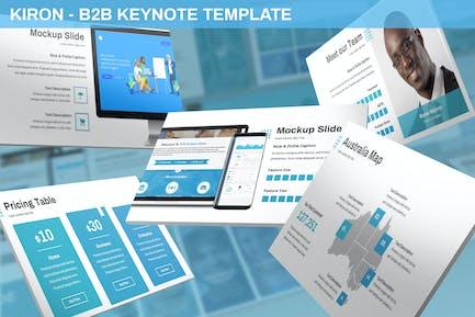 Kiron - B2B Keynote Template