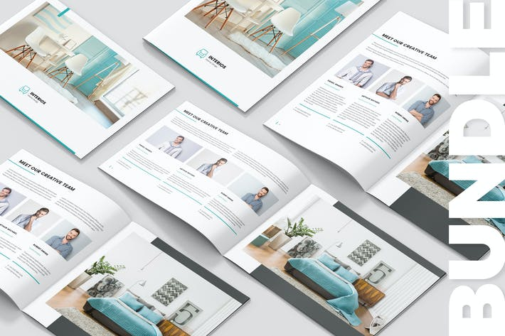 Thumbnail for Interios – Interior Design Brochures Bundle 3 in 1