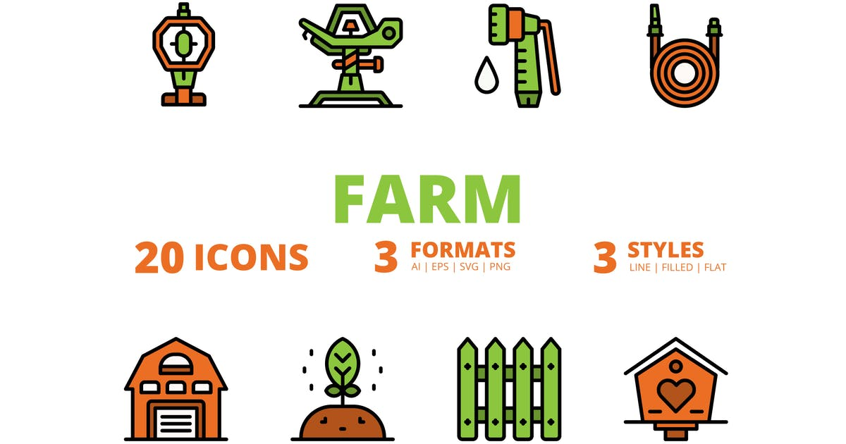 Download Farm icons packs by linector