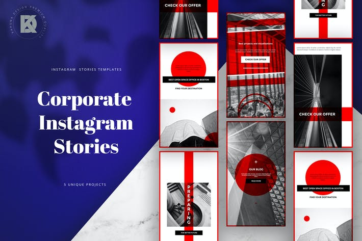 Cover Image For Corporate Instagram Banners Stories