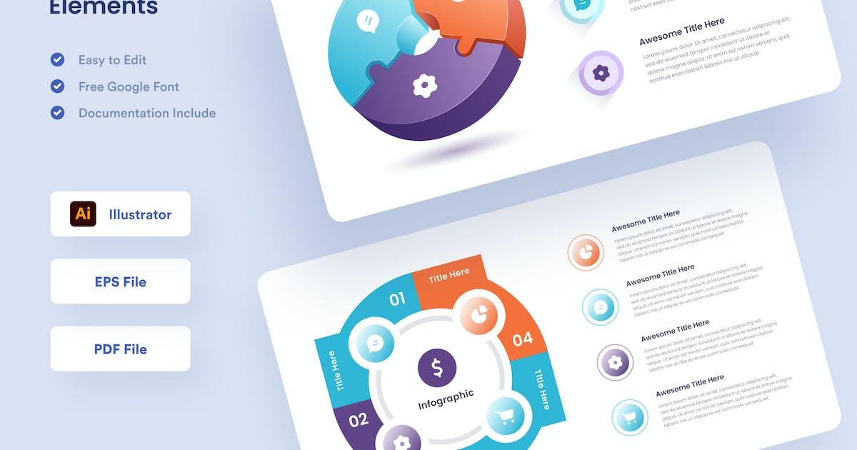 Download Infographic Elements - Muzitemp by GranzCreative