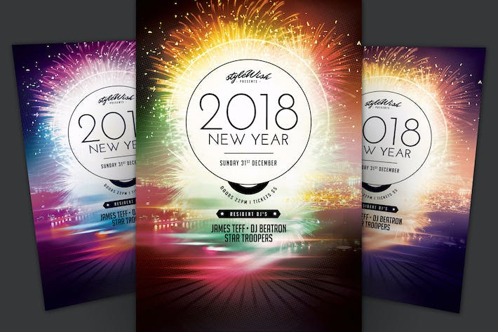 Cover Image For 2017 New Year Flyer