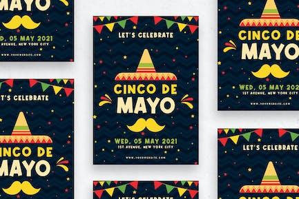 Cinco de Mayo - Flyer