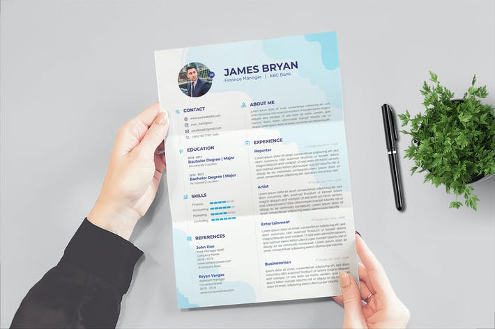 Thumbnail for Finance Manager Resume