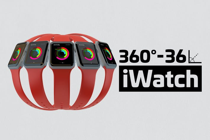 Thumbnail for Apple Watch Kit Mockup