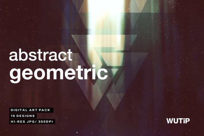 Cover Image For Abstract Geometric Backgrounds