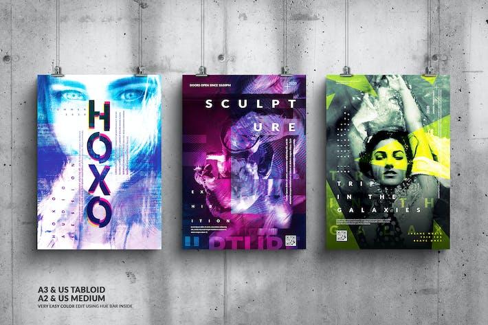Thumbnail for Music Event Big Poster Design Bundle