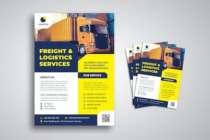 Logistics Service Flyer
