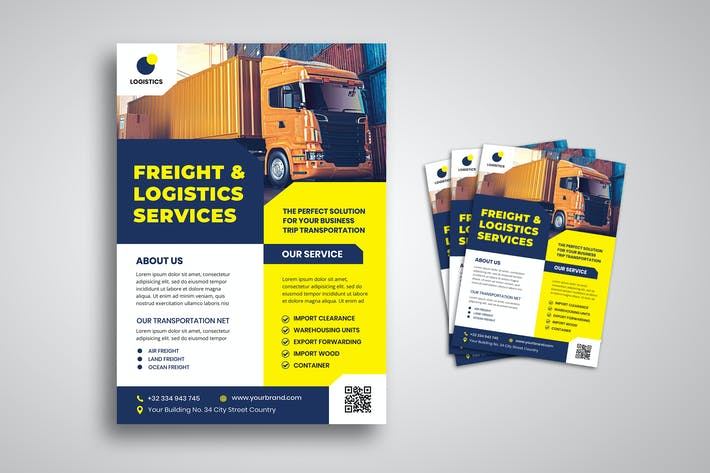 Thumbnail for Logistics Service Flyer