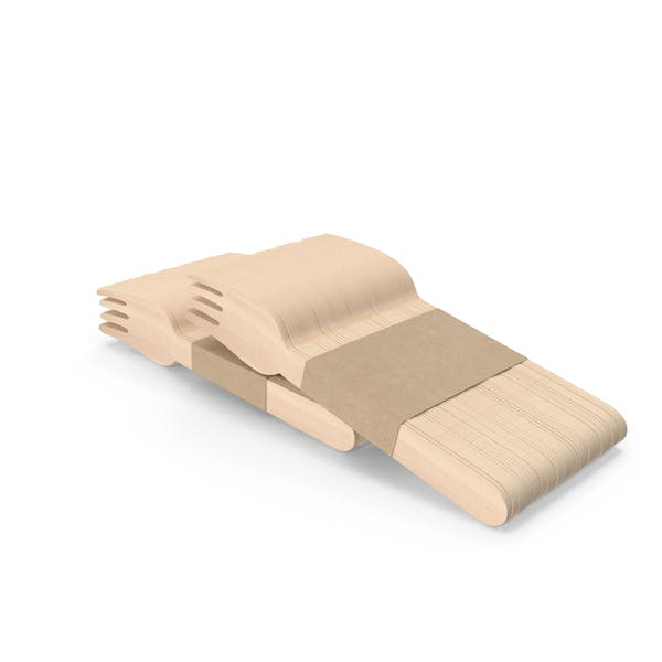 Horquillas de madera