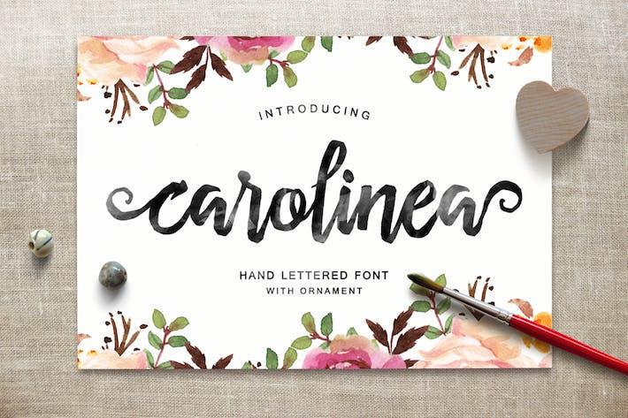 Thumbnail for Carolinea Typeface