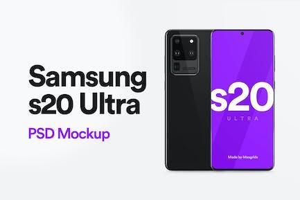 Samsung s20 Ultra Mockup