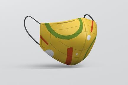 Face Mask Mockup - Fabric Mask