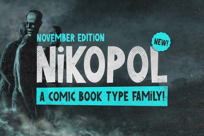 Thumbnail for Nikopol Typeface