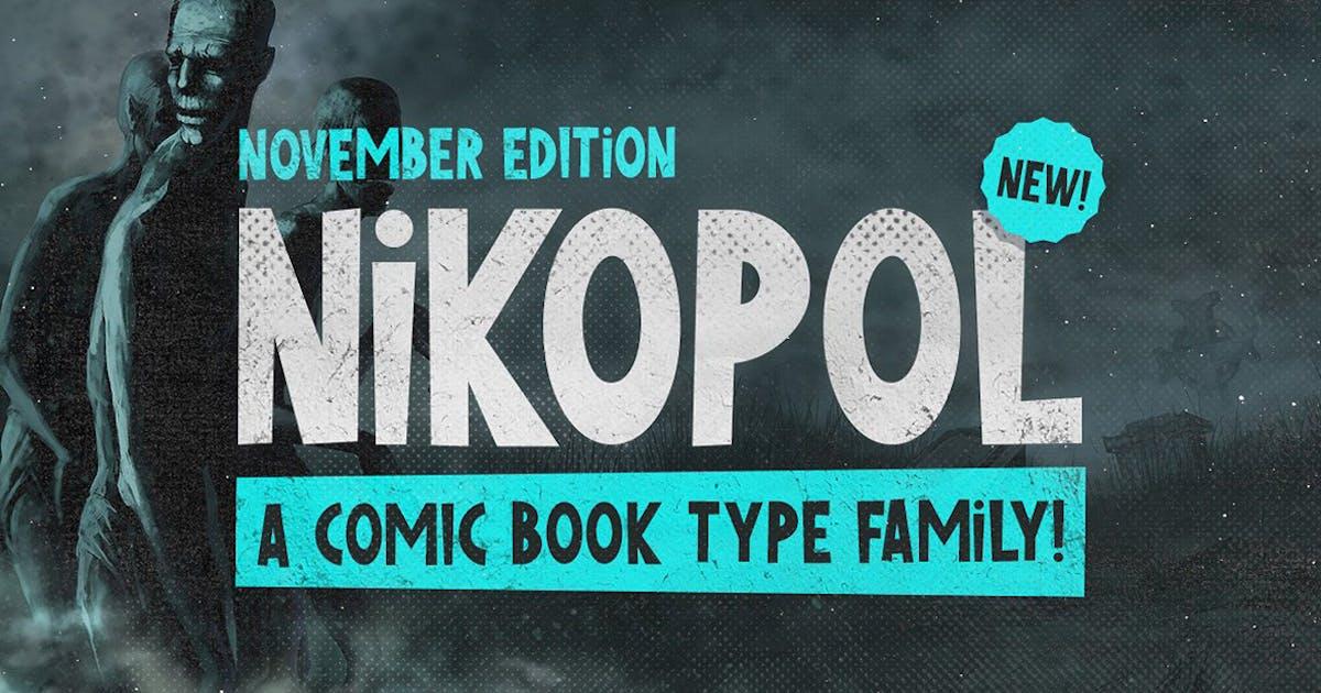 Download Nikopol Typeface by MehmetRehaTugcu