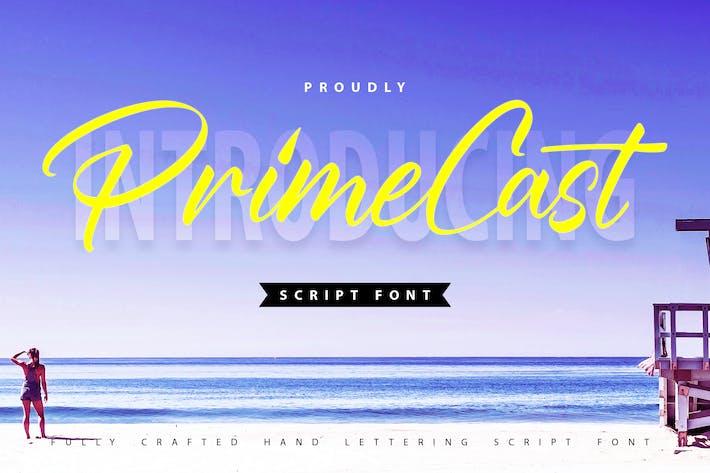 Thumbnail for PrimeCast | Handlettering Script Font