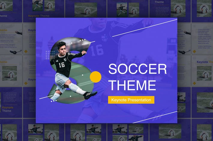 Thumbnail for Soccer Keynote Template