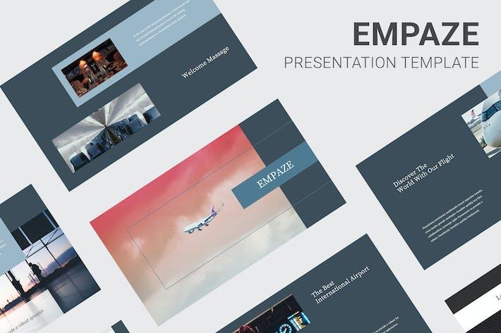 Thumbnail for Empaze - Aviation & Airline Keynote