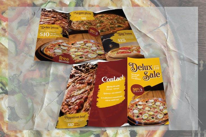 Thumbnail for Moderner Pinsel Pizza - Broschüre