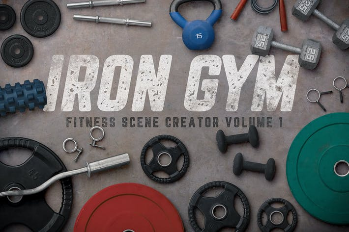 Thumbnail for Iron Gym Scene Creator Volume 1