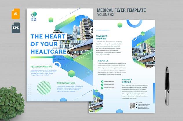 Medical Flyer Template Vol. 02