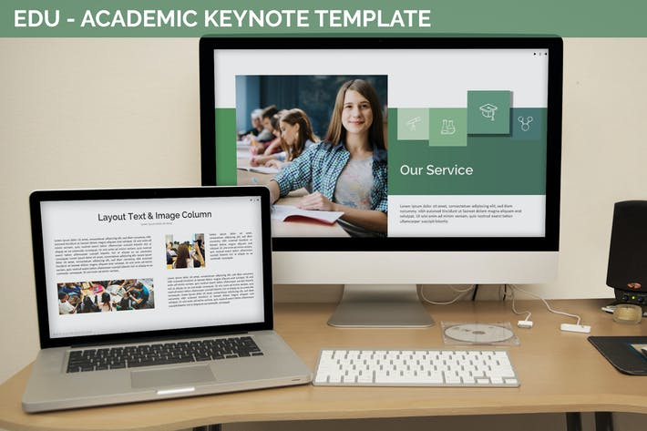 Thumbnail for Edu - Academic Keynote Template