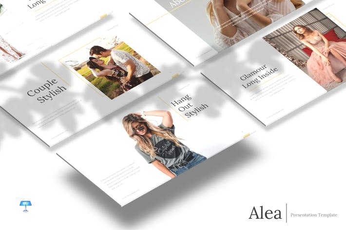 Thumbnail for Alea - Keynote Template
